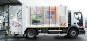 Habillage benne à déchet - Collecte des déchets et sensibilisation