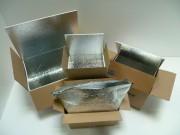 Habillage isotherme pour caisse - Préservation parfaite de la température