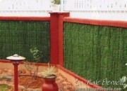 Haie écran de verdure - Habillage de clôture