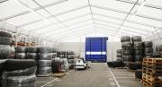 Hall de stockage démontable - Solution rapide, durable ou temporaire.