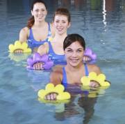 Haltères aquagym - Haltères aqua fitness en mousse eva