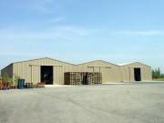 Hangar acier économique - Portées : 12 à 20 m