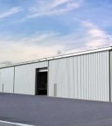 Hangar de stockage en acier démontable - 100% acier et entièrement démontable