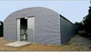 Hangar de stockage métallique 5 à 30 mètres - Adapté à vos besoins de stockages