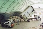 Hangar de stockage modulaire - Ossature en métal, en aluminium ou en bois