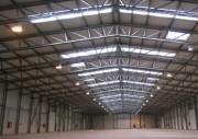 Hangar de stockage provisoire