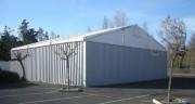 Hangar de stockage temporaire - Portée : 5 à 20 mètres