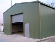 Hangar en kit garage métallique