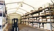 Hangar et entrepôt modulaire - Portée : de 5 m à 30 m