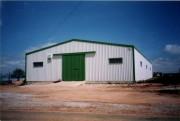 Hangar métal - Portée : 5 à 10 m