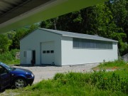 Hangar métallique 5 à 12 mètres - Portée : 5 à 12 m