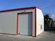Hangar métallique anticyclonique - Portées : 5 à 20 m
