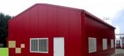 Hangar métallique bipente - Hauteur sous gouttière de 3 à 6 m