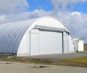 Hangar métallique Longueur illimitée - Longueur (m) : illimitée