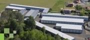 Hangar métallique monopente