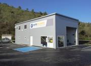 Hangar modulaire métallique - Portée (m) : 5 - 20 m