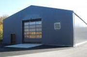 Hangar modulaire pour stockage de longue durée - Hauteur de 5 à 7 m