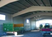 Hangar préfabriqué agricole
