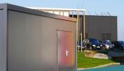 Hangar préfabriqué modulaire - Jusqu'à 9.20 mètres de hauteur libre du bâtiment modulaire