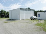 Hangar préfabriqué polyvalent - Préfabriqué en atelier