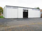 Hangar préfabriqué sur mesure - Préfabriqué en atelier