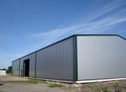 Hangars préfabriqués - Portée de 5 à 20 mètres