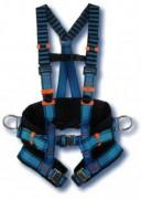 Harnais antichute avec boucle automatique - 5 points de réglages - 3 Tailles : S - M - XL