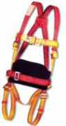Harnais antichute avec ceinture de maintien - Ajustable avec anneaux d'attache dorsale et frontale