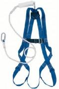Harnais de sécurité 1 point antichute - Sangle polyamide - Anneau dorsal acier inoxydable