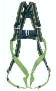 Harnais de sécurité 2 points d'amarrage - Sangles polyamide - Anneau en D dorsal acier inoxydable