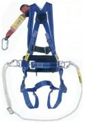 Harnais de sécurité de maintien 2 points - Avec ceinture de maintien - 2 boucles pour amarrage sternal