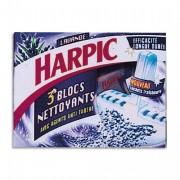 HARPIC Boite de 3 blocs cuvette wc marine 10061201 - Harpic