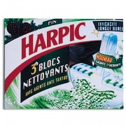 HARPIC Boîte de 3 blocs cuvette WC pin - Harpic