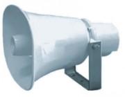 Haut parleur à compression pour gare ferrovière - Transformateur ligne 100 V - Indice de Protection : 66