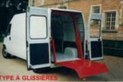Hayon élévateur à glissières - Capacité : 500 kg