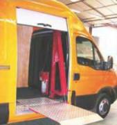 Hayon pour élévateur életrohydraulique - Aucune modification de véhicule