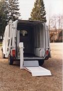 Hayon pour vehicules - Capacité maximale : 500 kg