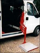 Hayons élévateurs type parallèlogramme - Capacité : 200 kg