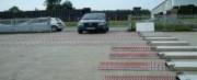 Herse gendarmerie - Herses déployables en coffret aluminium - Largeur déployée de 3.00 à 7.00 m