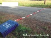 Herse police - Déploiement en 1 seconde par pédale filaire