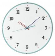 Horloge à aiguilles colorées - Dimensions (P x l x L):4.4 x 30 x 30 cm - En plastique
