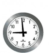 Horloge d'école