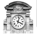Horloge de façade - Mairie
