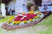 Horloge florale - Fixation des aiguilles sécurisé