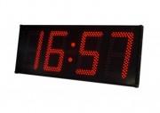 Horloge industrielle LED - Equipée d'un capteur de température interne
