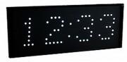 Horloge numérique LED - Hauteur digits : 8 cm – Heure, date et chronomètre