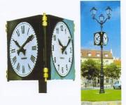 Horloge publique - Jusqu'à 4 cadrans