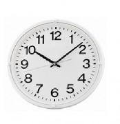 Horloge ronde murale - Diamètre : 30 X 4 cm - En plastique