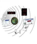 Horloge sans fils - Horloge sans fil système DHW