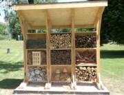 Hôtel à insectes en bois - Sur-mesure et personnalisable